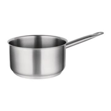 Picture of Vogue Stainless Steel Saucepan 5Ltr