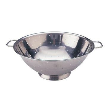 """Picture of Vogue Stainless Steel Colander 12"""""""