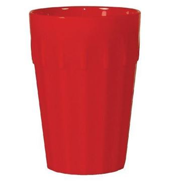 Picture of Kristallon Polycarbonate Tumblers Red 142ml (Pack of 12)