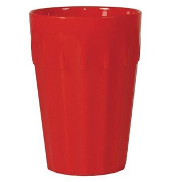 Picture of Kristallon Polycarbonate Tumblers Red 260ml (Pack of 12)