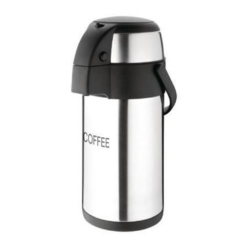 Picture of Olympia Pump Action Airpot Etched 'Coffee' 3Ltr
