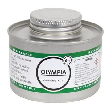 Picture of Olympia Liquid Chafing Fuel With Wick 6 Hour (Pack of 12)