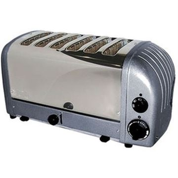 Picture of Dualit 6 Slot Toaster Charcoal