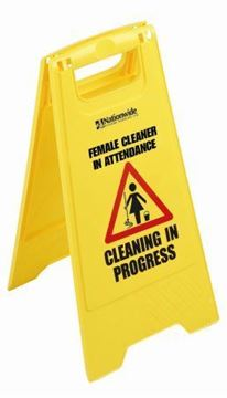 Picture of 101439 M/Fmale Cleaning Sign x5    10173