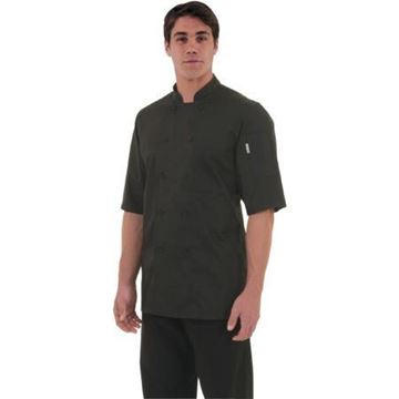 Picture of Chef Works Montreal Cool Vent Unisex Chefs Jacket Black L