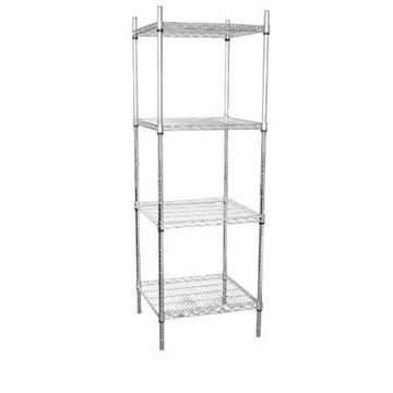 Picture of Vogue 4 Tier Wire Tower Unit 610x610mm