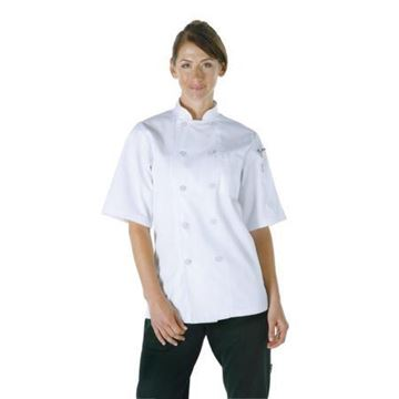 Picture of Chef Works Unisex Volnay Chefs Jacket White M