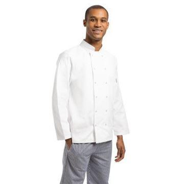 Picture of Whites Vegas Unisex Chef Jacket Long Sleeve White - XL