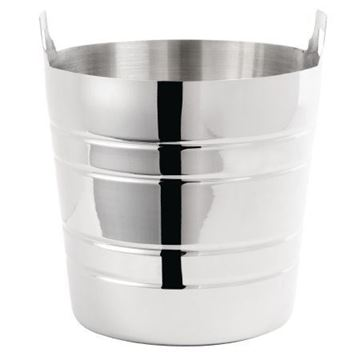 Picture of Olympia Polished Stainless Steel Wine And Champagne Bucket