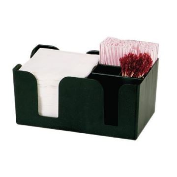 Picture of Kristallon Plastic Bar Caddy Black
