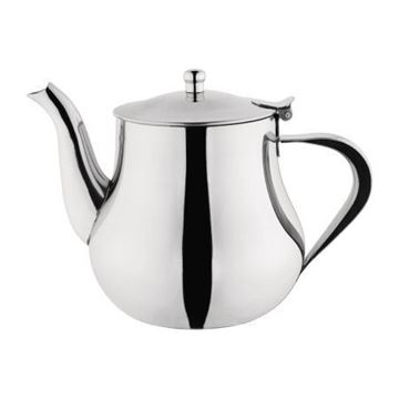 Picture of Olympia Arabian Stainless Steel Teapot 1Ltr