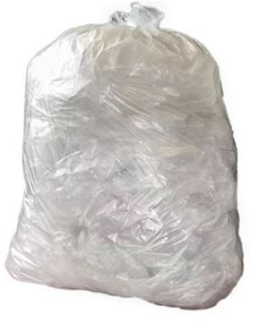"""Picture of 22x34x46"""" Clear Compactor Sack x100 BUC"""