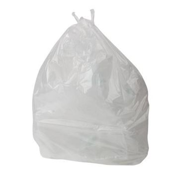 "Picture of White H/Duty Square Bin Liner 15x24x24"" x500 AML"
