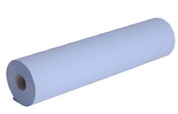 Picture of H2B550 Blue Hygiene Roll 2ply 50m x 500mm x9