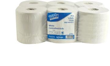 Picture of C/Feed Roll White 2Ply 152m x6  7278 12220