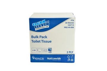 Picture of Clean and Clever Bulk Pack Toilet Tissue 2ply 36x250