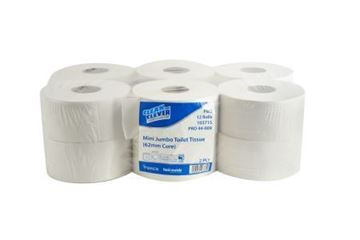 Picture of Clean and Clever 2Ply Mini Jumbo 200mtr SC x12 12060