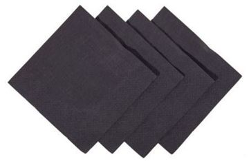 Picture of Cocktail Napkins 2ply Black 25cm x2000