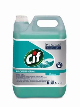 Picture of Cif Oxygel All Purpose Cleaner Ocean 2x5L
