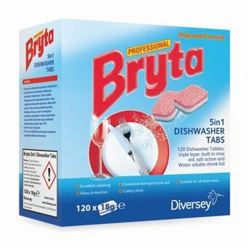 Picture of Bryta 5in1 Dishwasher Tablets x120