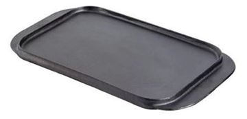 Picture of Vogue Reversible Cast Iron Double Griddle Pan