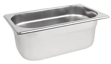 Picture of Vogue Stainless Steel 1/4 Gastronorm Pan 100mm