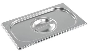 Picture of Vogue Stainless Steel 1/4 Gastronorm Lid