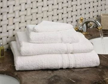 Picture of Mitre Essentials Capri Bath Towel White 70x135cm
