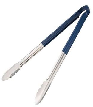 Picture of Vogue Colour Coded Serving Tong Blue 405mm
