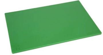 Picture of Hygiplas Anti-bacterial Low Density Chopping Board Green
