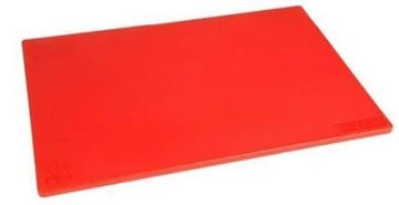 Picture of Hygiplas Anti-bacterial Low Density Chopping Board Red