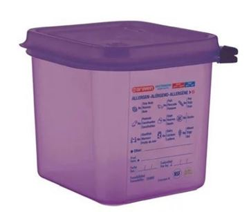 Picture of Araven Polypropylene Container GN 1/6 2.6L