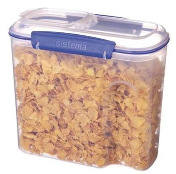 Picture of Sistema Klip It Cereal Container Small 2.8Ltr