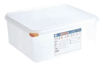Picture of Araven Polypropylene 2/3 Gastronorm Food Storage Container 13.5Ltr (Pack of 4)