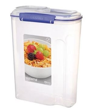 Picture of Sistema Klip It Cereal Container Large 4.2Ltr