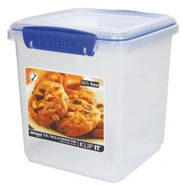 Picture of Sistema Klip It Tub Container 2.3Ltr