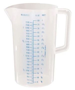 Picture of Stewart Graduated Measuring Jug 2.2Ltr