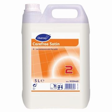 Picture of J030440 Carefree Satin Floor Polish 2x5L