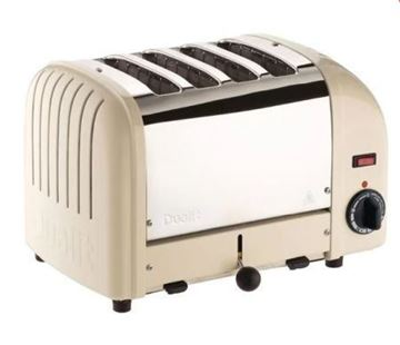 Picture of CD331 Dualit 4 Slice Vario Toaster Cream