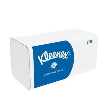Picture of 6778 Kleenex Ultra I-Fold Towel 2ply x1860