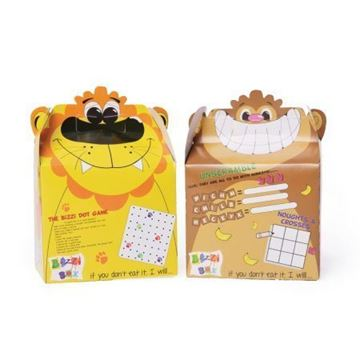 Picture of Crafti's Kids Bizzi Boxes Assorted Zoo Lion and Monkey (Pack of 200)