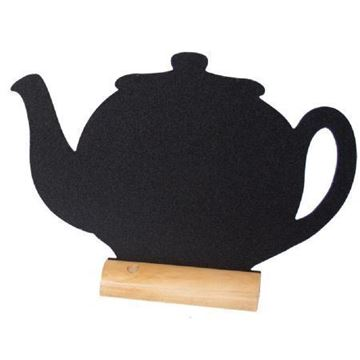 Picture of Securit Mini Teapot Shaped Blackboards (Pack of 3)
