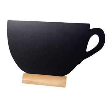 Picture of Securit Mini Cup Shaped Blackboards (Pack of 3)