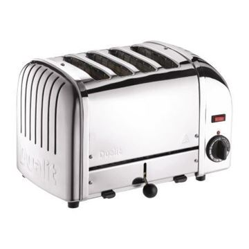Picture of Dualit 4 Slice Vario Toaster Stainless 40352