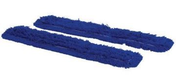 "Picture of 40"" Dust Beater V Sweep Sleeves Blue x2 55408"