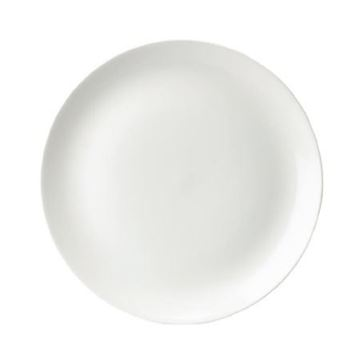 "Picture of WHEVP81 Evolve White Coupe Plate 8.66"" 1x12"