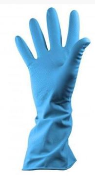 Picture of Blue Rubber Glove M/W SML S.6/7