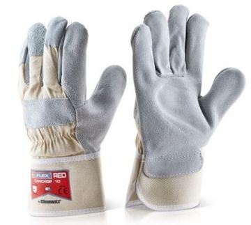 Picture of CANCHQP Heavy Duty Rigger Glove Red
