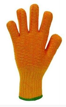 Picture of G1/RC2 Size 10 Orange Knitted Glove x12