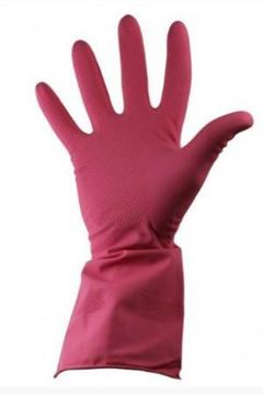 Picture of GR03 Household Glove Red Medium x12 100863